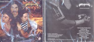 WITCHKROSS - Stronger than holiness      CD