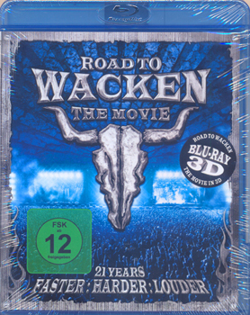 VA - Road to Wacken - the movie in 3D      Blu-Ray