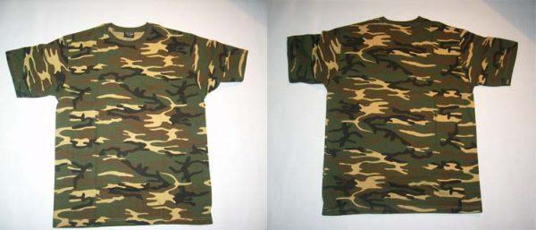 TARNSHIRT - Woodland - size XL      T-Shirt - 100 % Baumwolle