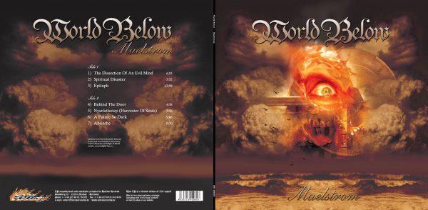 WORLD BELOW - Maelstrom - orange vinyl      LP