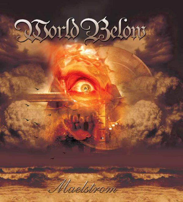 WORLD BELOW - Maelstrom - brown vinyl      LP
