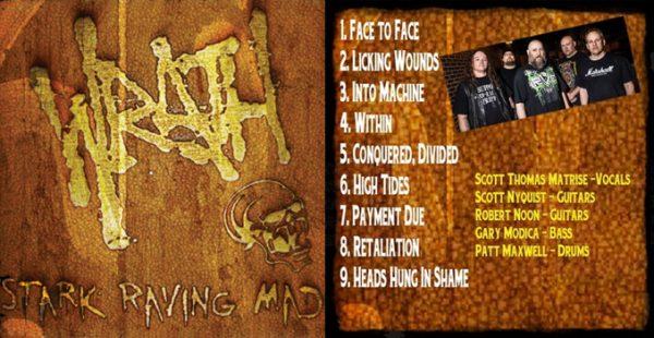 WRATH - Stark raving mad      CD