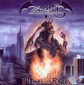 ZANDELLE - Flames of rage      CD